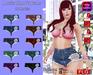 ::FLG Mozita Shorts Jeans + HUD 10 Models ::