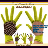 The Seventh Exile: Palmless Gloves - Yellow