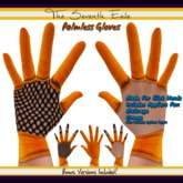 The Seventh Exile: Palmless Gloves - Orange