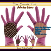The Seventh Exile: Palmless Gloves - Muting Pink