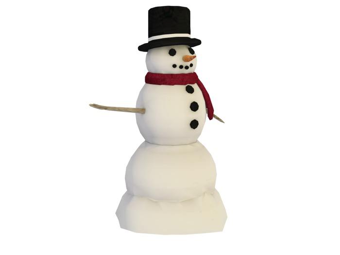 Mesh Snowman - Full Perm