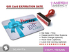 ::MA:: Gift Card Expiration Date SYSTEM