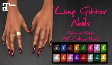 IAF Long Glitter Nails (Maitreya)