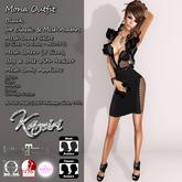 + Kamiri + Mona Dress Black / Appliers (ADD ME)