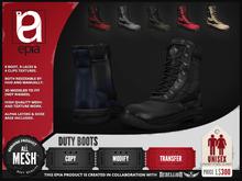 (epia) - Duty Boots