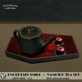 UNCERTAIN SMILE VAMPIRE TEA SET