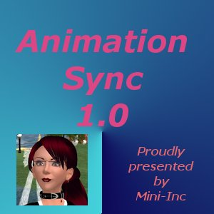 Animation-Sync 1.2 - Create your own linedance !