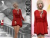 Stressless - Little romantic dress - Red