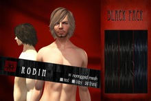 [Uw.st -7R-]  Robin-hair  Black pack