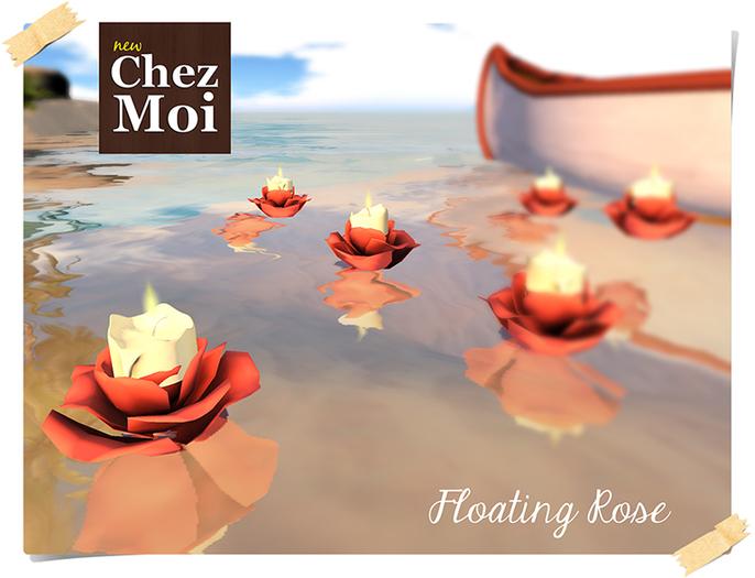 Floating Rose ♥ CHEZ MOI
