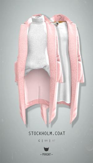 -Pixicat- Stockholm.Coat (Pink)