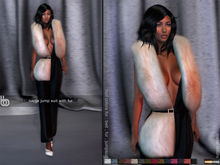 Bens Boutique - Nadja Jumpsuit with Fur