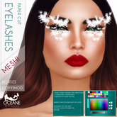 Limited Lashes: Oceane - Paper Cut Mesh Lashes Horses w/hud