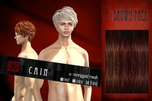 [Uw.st -7R-]  Cain-hair  R brown pack