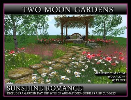 SUNSHINE ROMANCE - Landscaped Garden