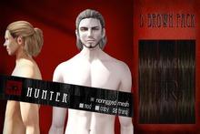 [Uw.st -7R-]  Hunter-hair  D brown pack