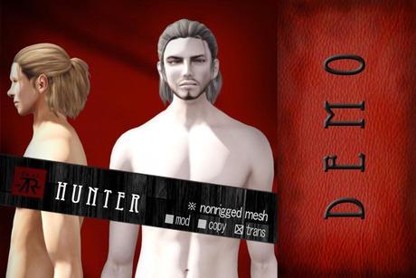 [Uw.st -7R-]  Hunter-hair  demo pack
