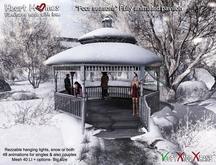 Heart Homes- Four Seasons Pavillion- Winter gazebo or Spring Gazebo or Summer gazebo or Autumn gazebo/ Fall gazebo
