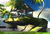 inVerse® MESH - NAPUKA - Furnished tiki with island multianimated
