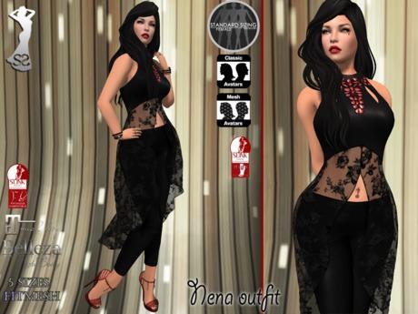 Stressless - Nena outfit Black