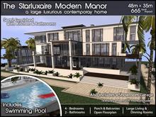 Starluxaire Modern Manor v1.0 (Package)