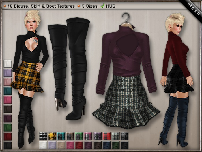 DN Mesh - Star Outfit