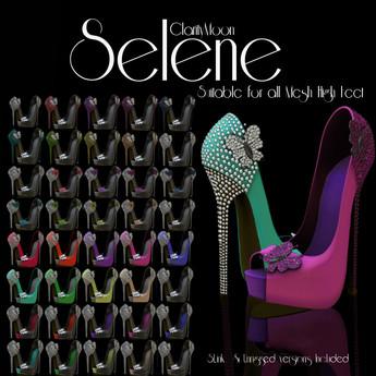 ClarityMoon~Selene Heels SLink & Unrigged