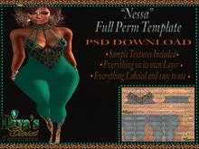 .:::Diva's Closet Nessa (FullPerm Template):::.