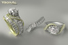 ~~ Ysoral ~~ .:Realistic  Set 3 Luxe Ring Mailys:.