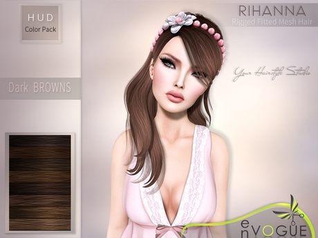 enVOGUE - HAIR Rihanna - Dark Browns