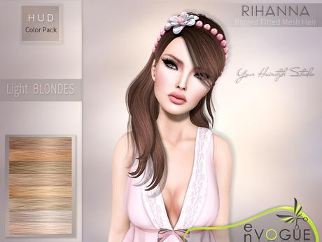enVOGUE - HAIR Rihanna - Light Blondes