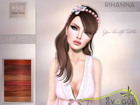 enVOGUE - HAIR Rihanna - Light Reds