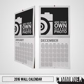 [Commoner] 2017 Wall Calendar / Add Your Own...