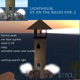 Light house with waves & poses for 2(crate)
