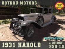HOTARU MOTORS - 1931 Harold [BOX]