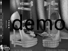 Bens Boutique - Olla Bow High Heels (Slink High) - Demo