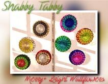 *Shabby* Merry + Bright Wallflowers