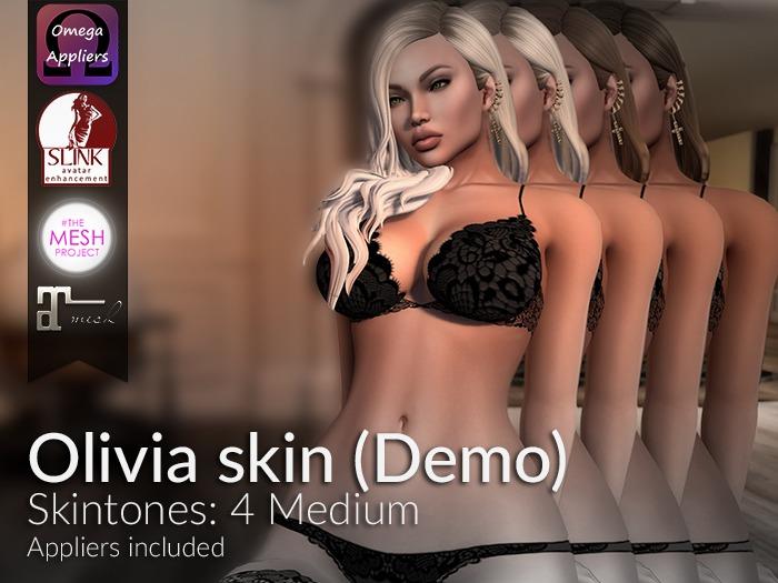 LURE: Olivia skin - 4 Medium (Demos)