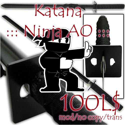 Katana ::: Ninja AO :::
