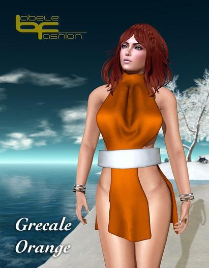 Babele Fashion :: Grecale Orange