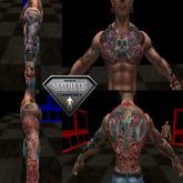 Aesthetic Skull Tattoo