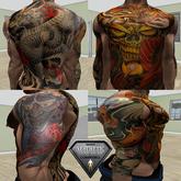 Traditional Japanse Aesthetic Tattoo Full Set