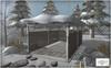 ROOST - Foxford Hill Carport Snow Roof