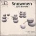 [DDD] Snowmen Bundle 2015