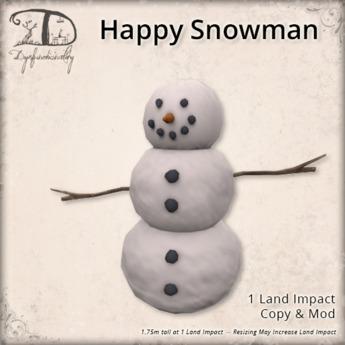 [DDD] Happy Snowman