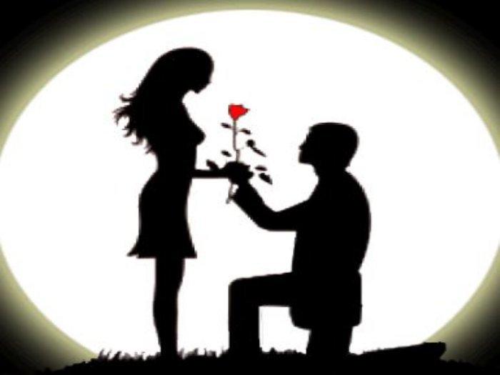 Valentine's day scene