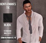 !NFINITY Gentleman's Tie Black - Male BOX