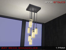 Anna Erotica - Art Deco Chandelier  (box)