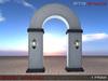Anna Erotica - Entry Archway - Auto Lights - 6 Textures - 1 Prim!