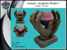Icaland - Sculpture Model 2